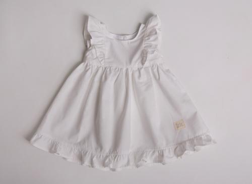 eaf5ac29e8 White Frilly Dress. Home   Baby   All   White Frilly Dress